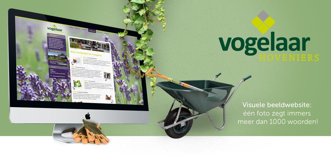 Website Vogelaar hoveniers