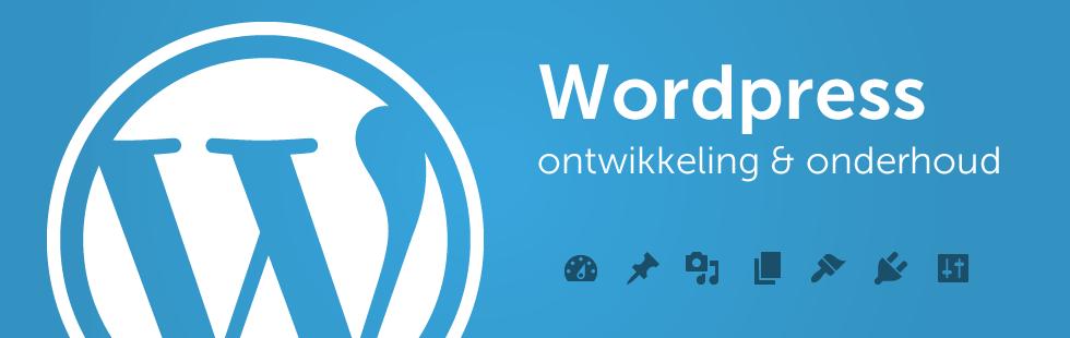Wordpress ontwikkeling en onderhoud