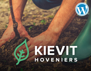 Wordpress website voor hovenier