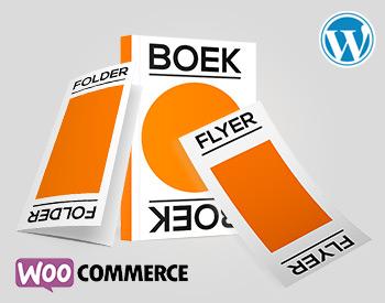 Woocommerce webshop voor drukwerk