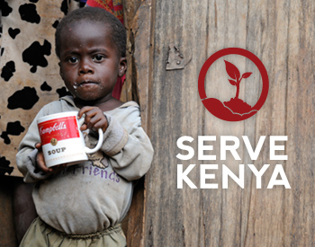 Meertalige website stichting Serve Kenya
